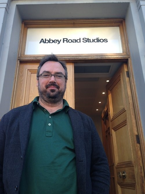 Derek Jones Abbey Road Studios